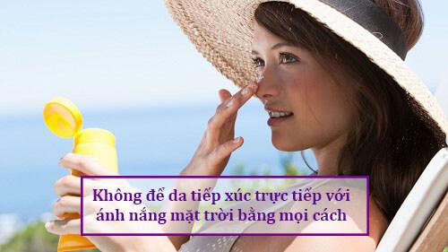 Hướng dẫn cách phục hồi da mặt bị hỏng do trị nám bằng kem trộn