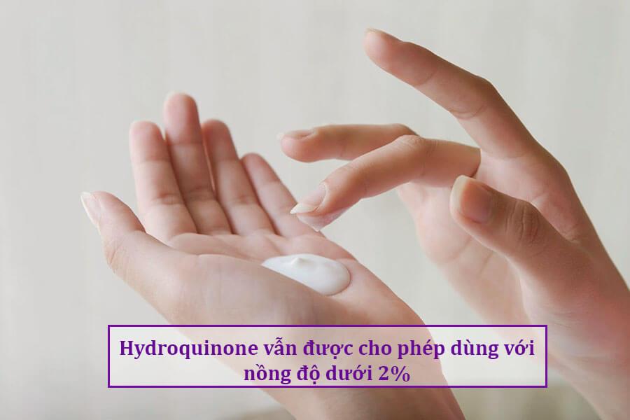 Có nên dùng thuốc trị nám tàn nhang chứa hydroquinone? đây là câu trả lời.